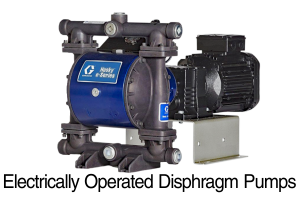 Electrically Operated Diaphragm Pumps